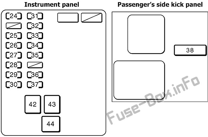 [DIAGRAM] 98 Avalon Radio Fuse Location FULL Version HD