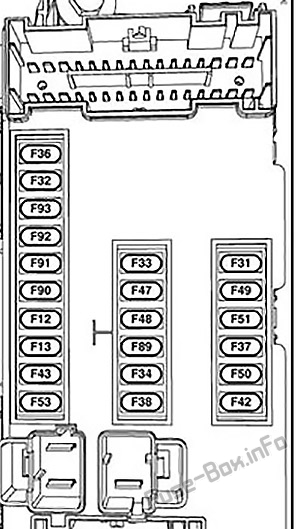 Fuse Box Diagram Chrysler Pacifica (RU; 2017-2019...)