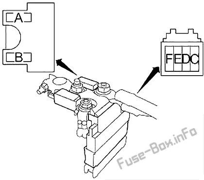Fuse Box Diagram Infiniti Q50 (V37; 2013-2015)
