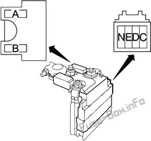 Fuse Box Diagram Infiniti QX56 / QX80 (Z62; 2010-2017)