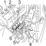 Fuse Box Diagram Nissan Maxima (A33; 1999-2003)