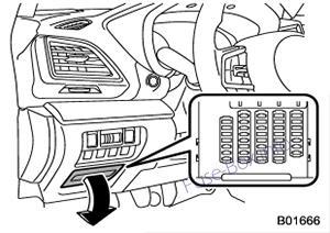 Предохранители и реле Subaru Impreza (2017-2019