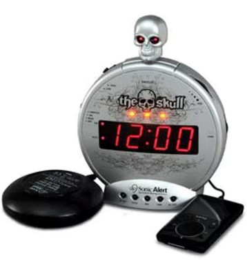 fuse-d vibrating alarm clock design