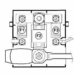 Fuse box diagram Vauxhall Opel Movano and relay with