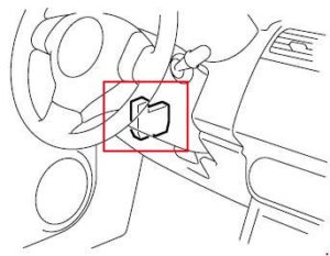 Fuse box diagram Suzuki Cervo / Suzuki Mehran and relay