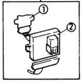 Fuse box diagram Vauxhall / Opel Astra F relay with
