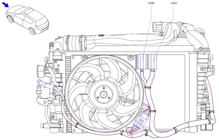 Fuse box diagram Vauxhall (Opel) Astra H relay with