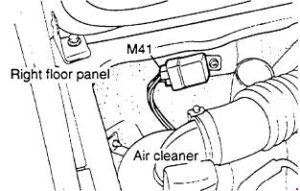 Fuse relay box diagram for Hyundai Grace and Hyundai H-100