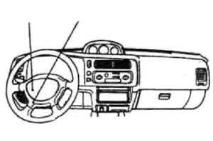 Fuse box diagram Mitsubishi Montero Sport 1 relay with