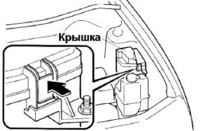 Fuse box diagram Mazda Premacy relay with assignment and