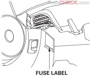 Acura CSX (2006-2011) Fuse Diagram • FuseCheck.com