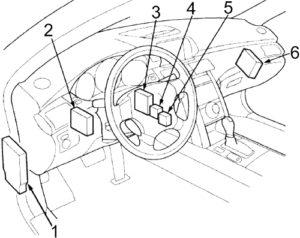 Acura RL (KB1/KB2; 2005-2012) Fuse Diagram • FuseCheck.com