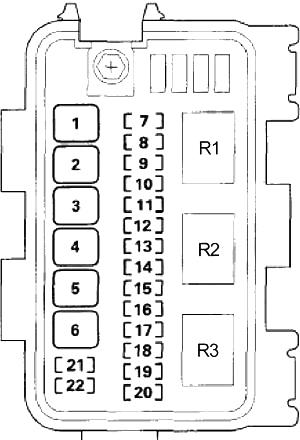 Acura ZDX (2010-2013) Fuse Diagram • FuseCheck.com