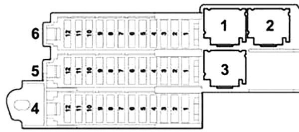 Audi Q7 (2005-2015) Fuse Diagram • FuseCheck.com