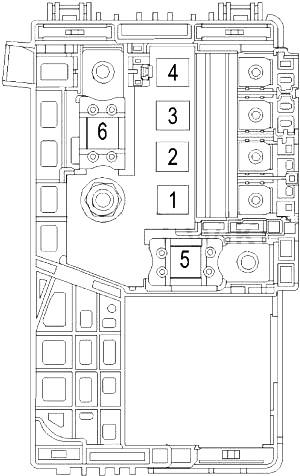Buick LaCrosse (2010-2016) Fuse Diagram • FuseCheck.com