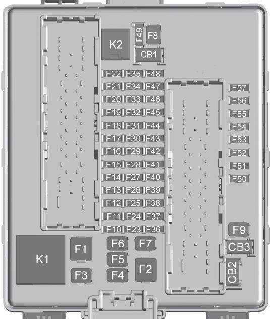 Cadillac XT5 (2017-2018) Fuse Diagram • FuseCheck.com