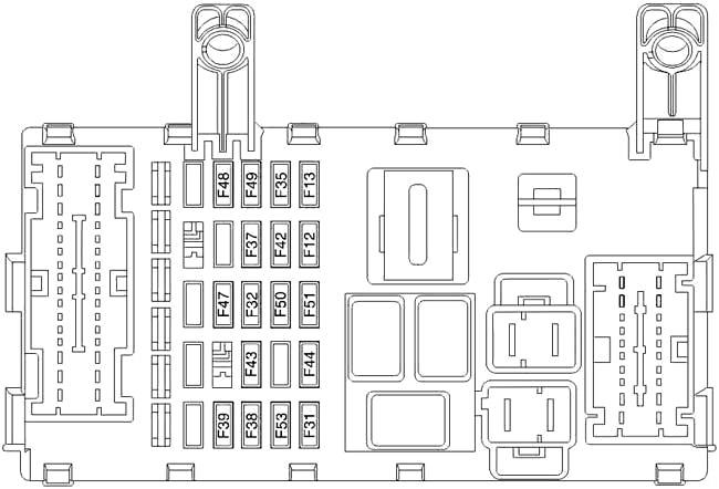 Fiat Strada (2007-2017) Fuse Diagram • FuseCheck.com