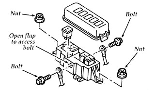 Ford Aspire (1994-1997) Fuse Diagram • FuseCheck.com