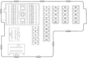 Ford Explorer (2000-2005) Fuse Diagram • FuseCheck.com