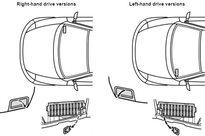 Ford Ka (1996-1998) Fuse Diagram • FuseCheck.com