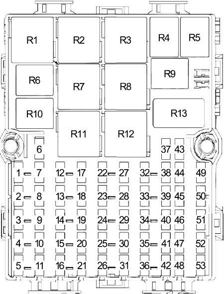 Ford Transit Connect (2010-2013) Fuse Diagram • FuseCheck.com