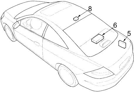 Honda Accord (2003-2007) Fuse Diagram • FuseCheck.com