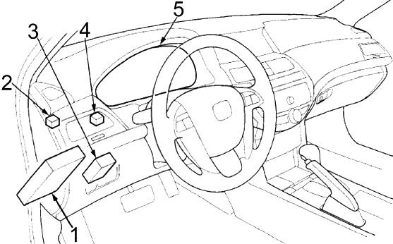 Honda Accord (2008-2012) Fuse Diagram • FuseCheck.com