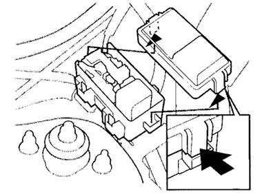 Honda CR-V (1995-2001) Fuse Diagram • FuseCheck.com
