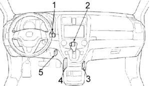 Honda CR-V (2007-2011) Fuse Diagram • FuseCheck.com