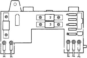 Honda Civic & CR-X (1988-1991) Fuse Diagram • FuseCheck.com