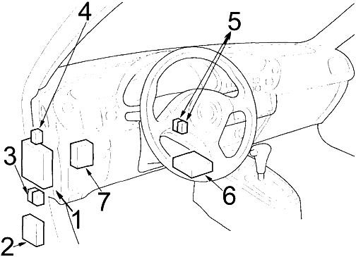 Honda Insight (2000-2006) Fuse Diagram • FuseCheck.com