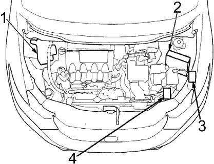 Honda Insight (2010-2014) Fuse Diagram • FuseCheck.com