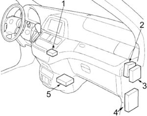 Honda Odyssey (2005-2010) Fuse Diagram • FuseCheck.com