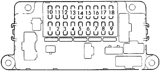 Honda Prelude (1982-1987) Fuse Diagram • FuseCheck.com
