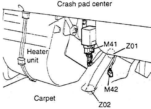 Hyundai Porter, H100 (AU; 1996-2003) Fuse Diagram