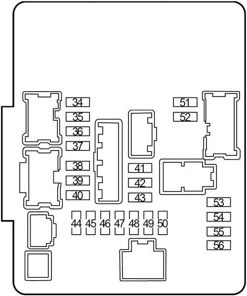 Infiniti JX35, QX60 (2012-2017) Fuse Diagram • FuseCheck.com