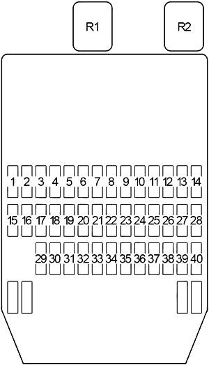 Infiniti Q45 (1997-2001) Fuse Diagram • FuseCheck.com