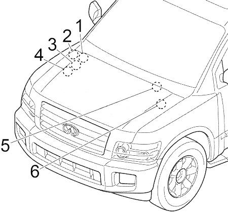 Infiniti QX56 (2004-2010) Fuse Diagram • FuseCheck.com