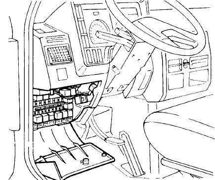 Iveco Daily II (1989-2000) Fuse Diagram • FuseCheck.com
