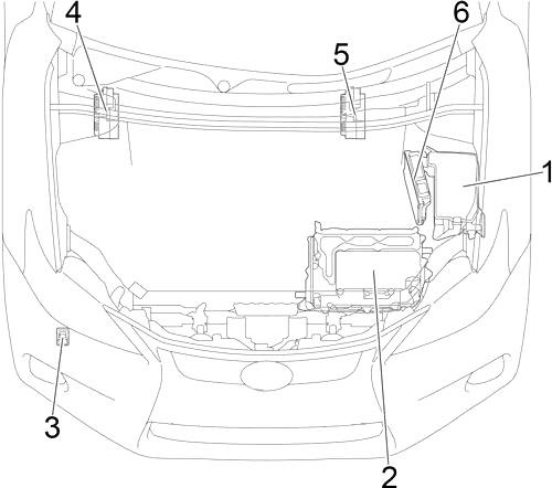 Lexus CT 200h (2011-2017) Fuse Diagram • FuseCheck.com