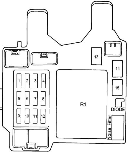 Lexus ES 300 (XV10) (1991-1996) Fuse Diagram • FuseCheck.com