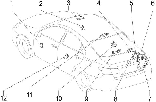 Lexus ES 350 (XV40) (2006-2012) Fuse Diagram • FuseCheck.com
