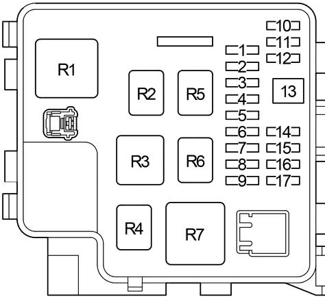 Lexus LS 430 (XF30) (2000-2006) Fuse Diagram • FuseCheck.com