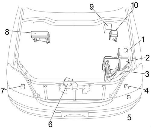 2003 Lexus Ls430 Fuse Diagram : Diagram Fuse Diagram For