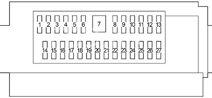 Lexus LS 460 (XF40) (2007-2012) Fuse Diagram • FuseCheck.com