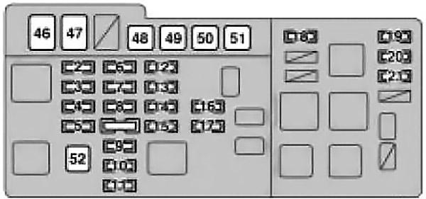 Lexus RX 300 (XU10) (1999-2003) Fuse Diagram • FuseCheck.com