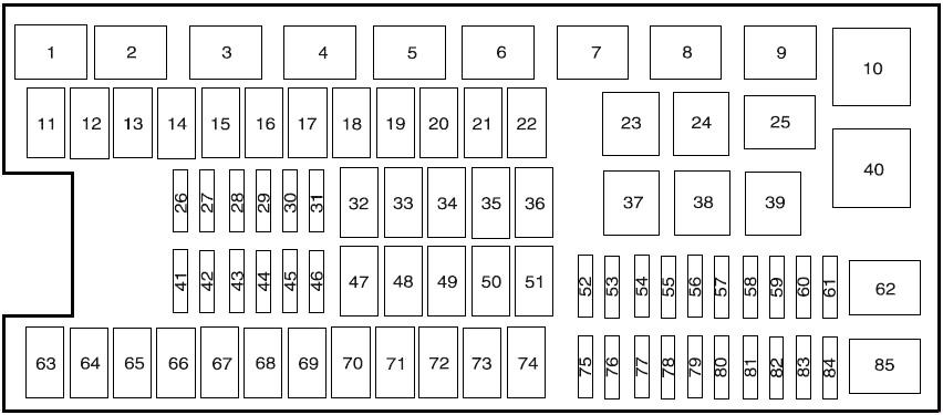 Lincoln Navigator (2007-2014) Fuse Diagram • FuseCheck.com