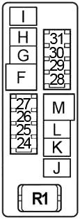 Nissan Altima (2002-2006) Fuse Diagram • FuseCheck.com