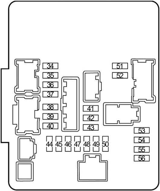 Nissan Altima (2013-2018) Fuse Diagram • FuseCheck.com
