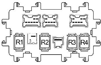 Nissan Murano (2009-2014) Fuse Diagram • FuseCheck.com
